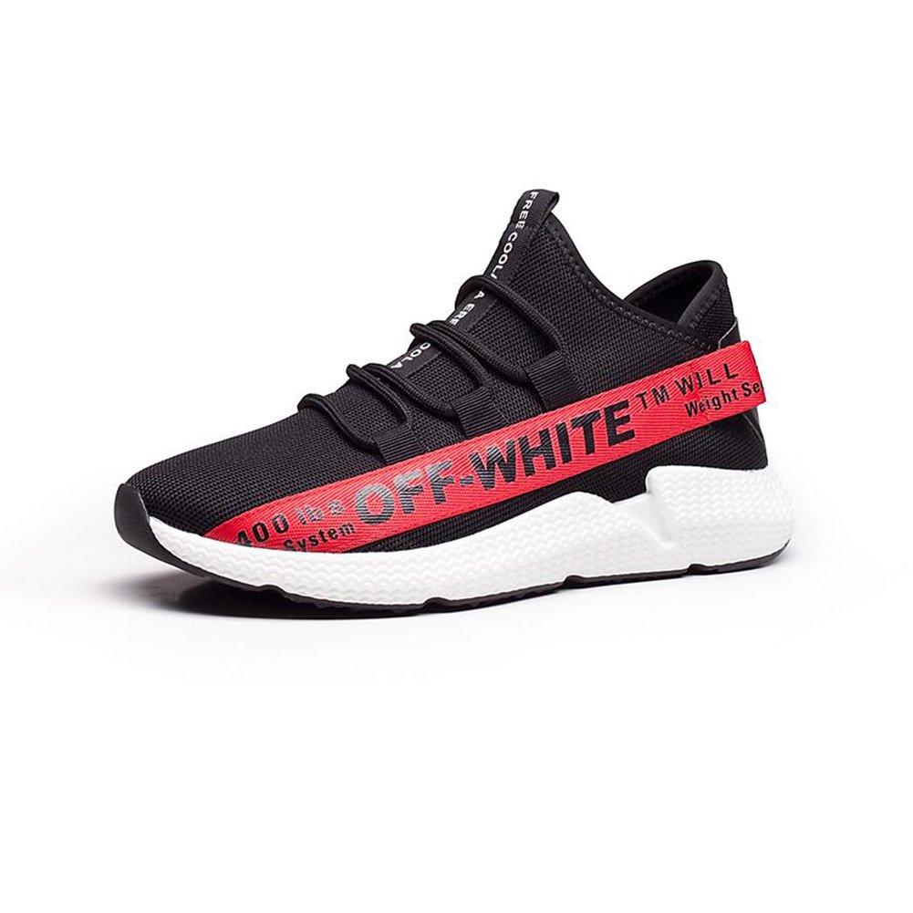 CJC Zapatos Al Aire Libre Hombres Gowalk Zapatillas Casual Entrenadores Ligero Transpirable Correr Caminar Moda Deportes (Color : Red, Tamaño : EU40/UK7) EU40/UK7|Red