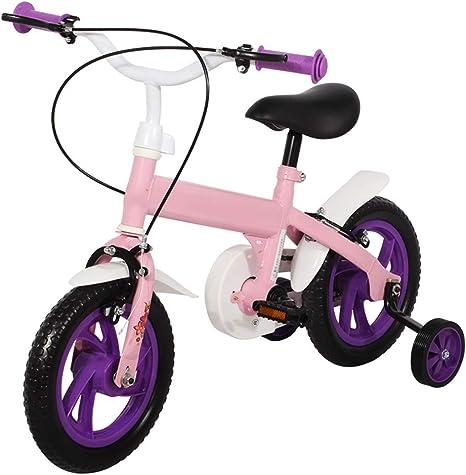 YUMEIGE Bicicletas Infantiles Bicicletas para niños de 12 Pulgadas ...