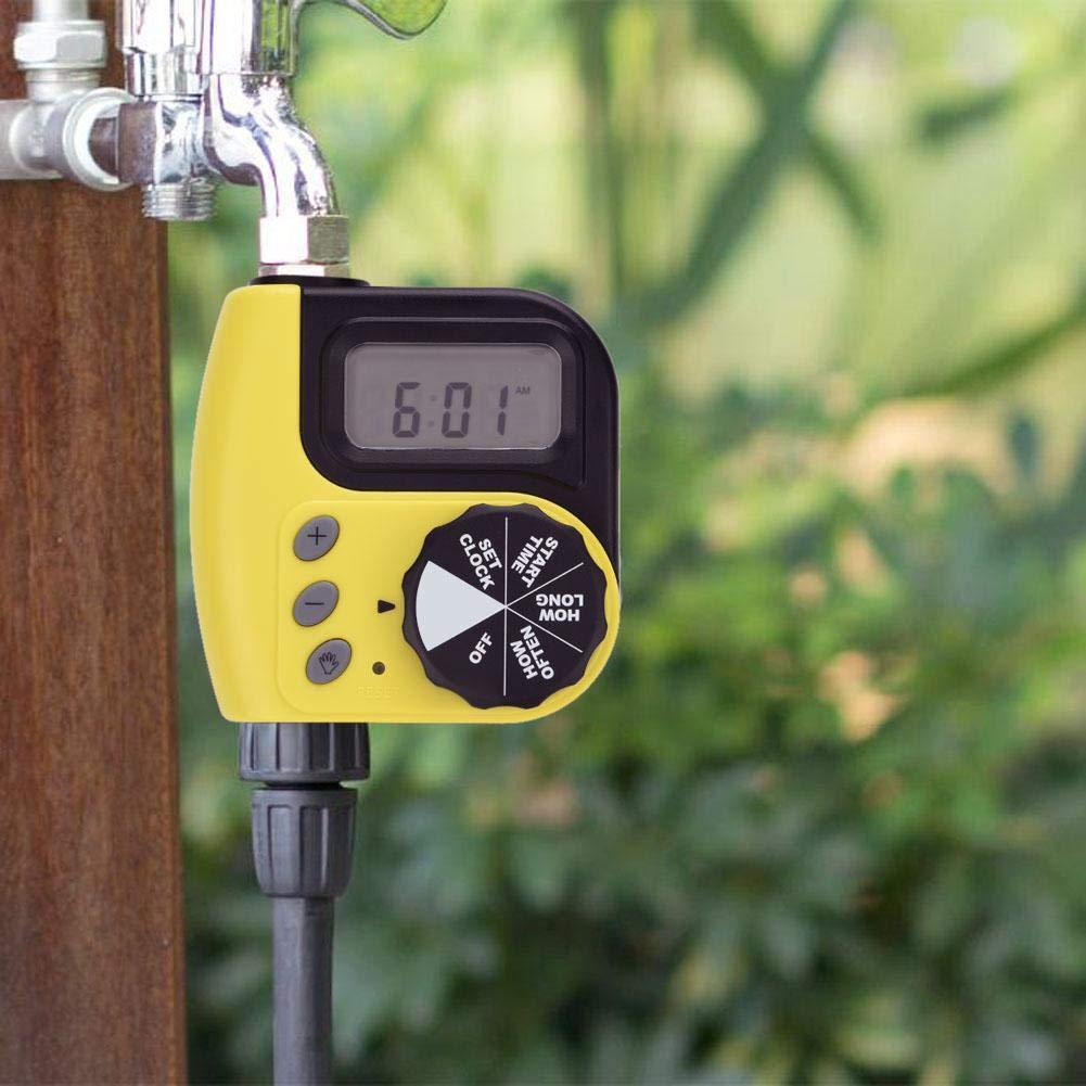 GW Smart Digital Jardin Minuterie deau Arrosage Arrosage Minuterie Syst/ème Contr/ôleur Minuterie Automatique Arrosage Outils De Valve /Électronique