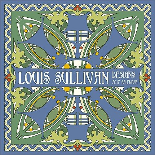 2017 Louis Sullivan Designs Mini Wall Calendar (Sullivan Mini)