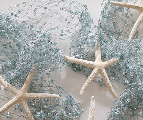Beach-Christmas-Garland-Nautical-Starfish-Garland-in-Soft-Blue-65-FT