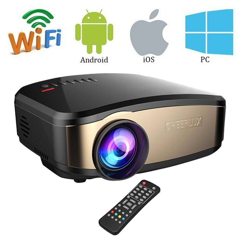 Wifi HD Video Portable Home Theater Projector For Movies