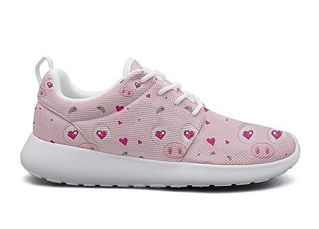 8ba7754cea5d8 Amazon.com: ipdterty Wear-Resistant Walking Sneaker Pink Pigs ...