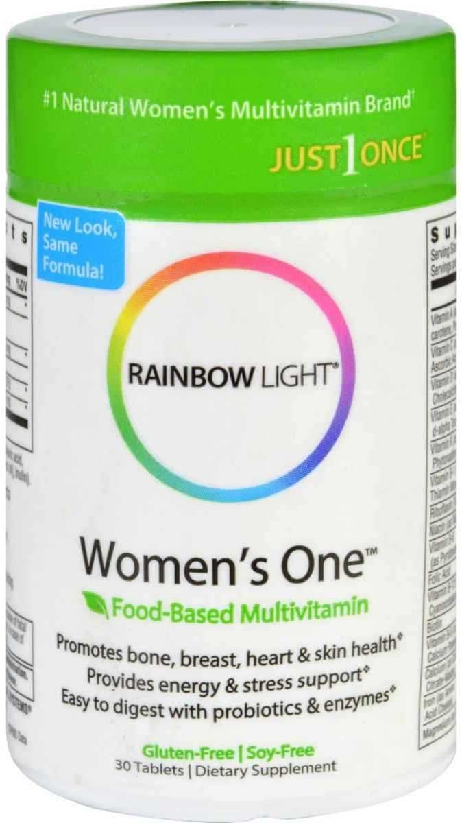 Rainbow Light, Womens One, Multivitamin, 30-Count