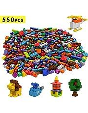 Tumama Ladrillos pequeños para Construir 550/1100 Pieza - Compatible con Todas Las Grandes Marcas