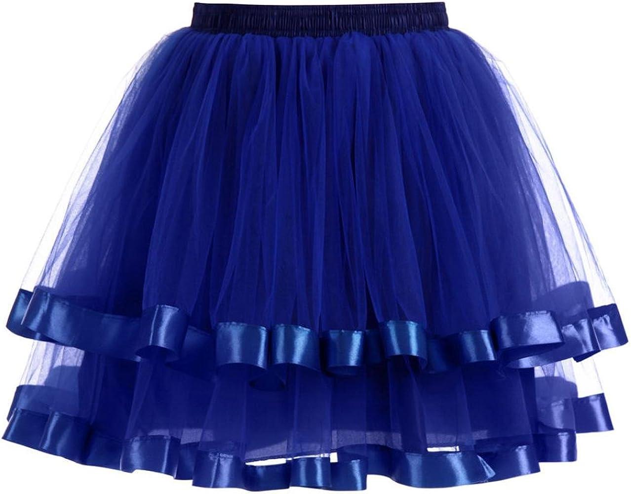 Mini Falda De Ballet Skirt, Xinantime Falda Corta de Gasa Plisada ...
