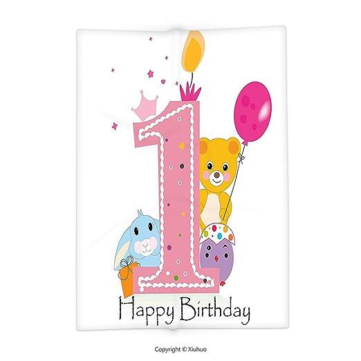 Xiuhuo Decoración para primer cumpleaños, diseño de princesa ...