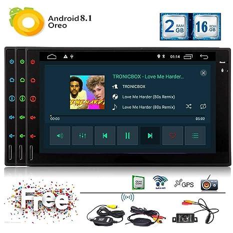 EINCAR Radio de Coche GPS Android 8.1 Oreo 7 Pulgadas ...
