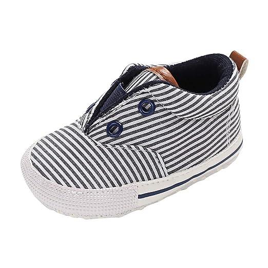 3d6260636d2b8 Amazon.com: Baby Shoes,Lucoo Toddler Baby Boys Girl Stripe Prewalker ...