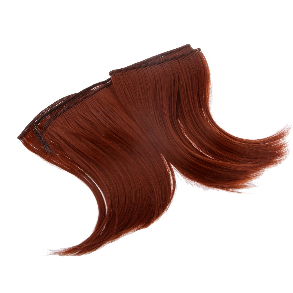 #11 15 x 100cm MagiDeal Parrucca Fai da Te Welf Frangia di Capelli Doll Wig per 1//3 1//4 Bambole BJD SD