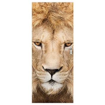 SOULOS Etiqueta de la Puerta Animal Abeja 3D Mural Pared Autoadhesivas Impermeable Desmontable PVC Etiqueta de. Pasa ...