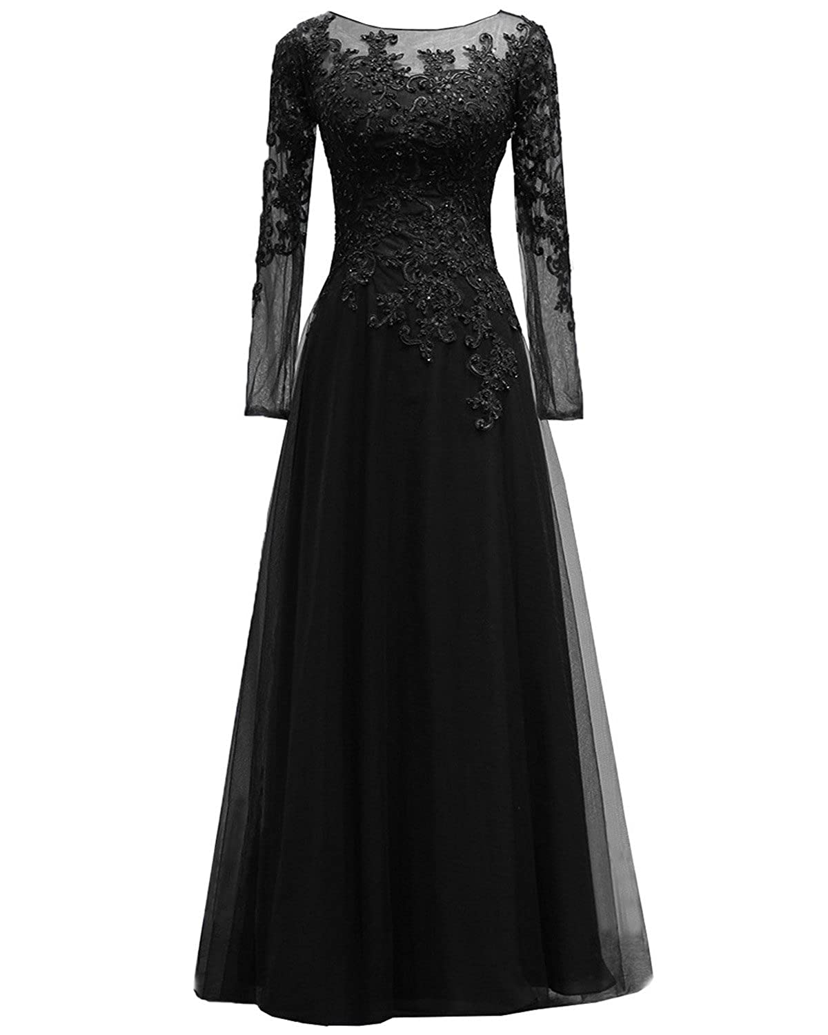 769d3c689 2.Size:Feature:Beads, Jewel Neck, Floor Length, Long Sleeve.  3.Occation:Wedding, Evening, Prom ,Party,Homecoming,Cocktail,Special  Time,other formal outdoor ...