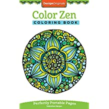 Color Zen Coloring Book Perfectly Portable Pages On The Go