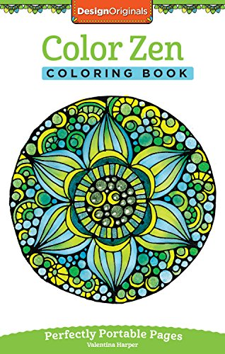 Color Zen Coloring Book: Perfectly Portable Pages (On-The-Go! Coloring Book) (Design Originals)