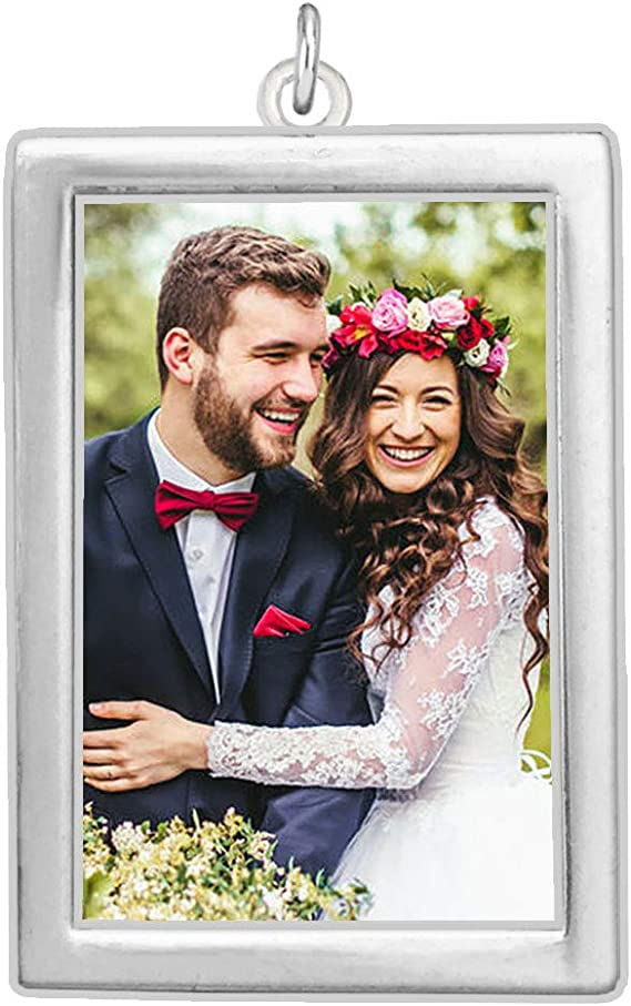 includes everything you need including instructions Photo Pendants charms for family photo Double sided Wedding Bouquet charm kit