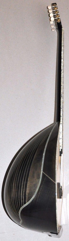 Greek 8-String Bouzouki w/ Soft Case - Black