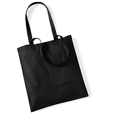 371211f636700 Stoffbeutel Baumwolltasche Beutel Shopper Umhängetasche viele Farbe Black