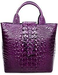 Top Handle Satchel Handbags Crocodile Bag Designer Purse Leather Tote Bags