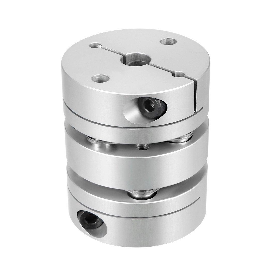 sourcingmap 14mmx16mm Clamp Tight Motor Shaft 2 Diaphragm Coupling Coupler