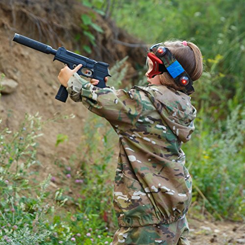 09ec0ca1f0 Kiloxa Rival Mask - Eye Safety Glasses for Kids - Perfect for Nerf Rival  Games -