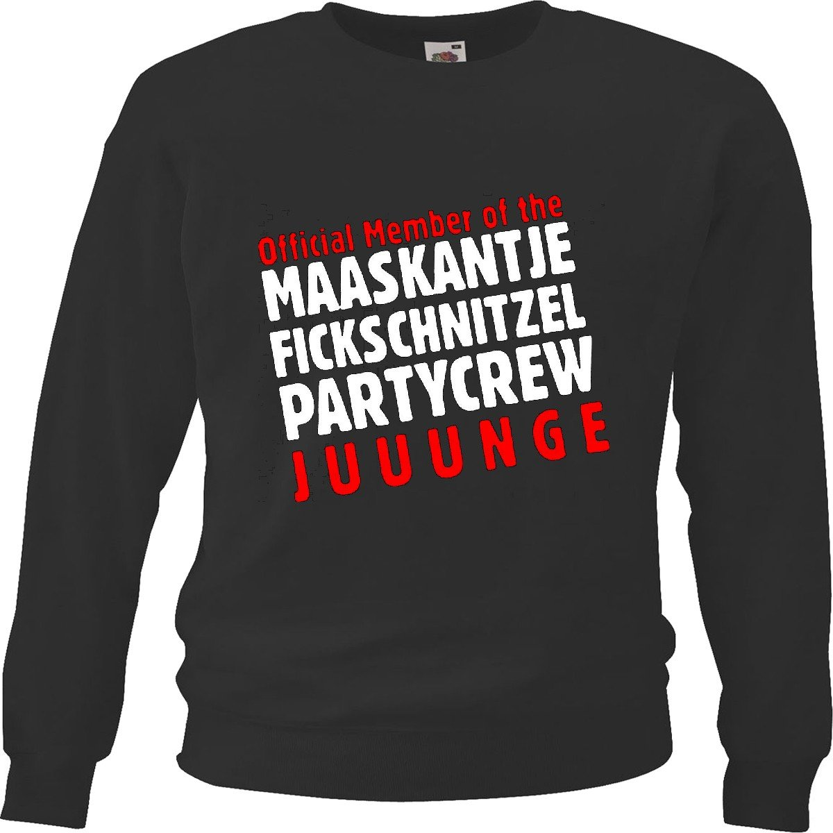 2914 Sweatshirt Sweater Official Member Maaskantje Fickschnitzel Crew Motiv Nr