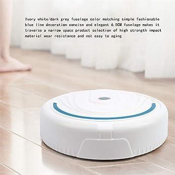 Tianya Robot Aspirador automático de pisos tipo de carga USB Detección automática inteligente 23x5cm-Blanco, Negro: Amazon.es: Bricolaje y herramientas