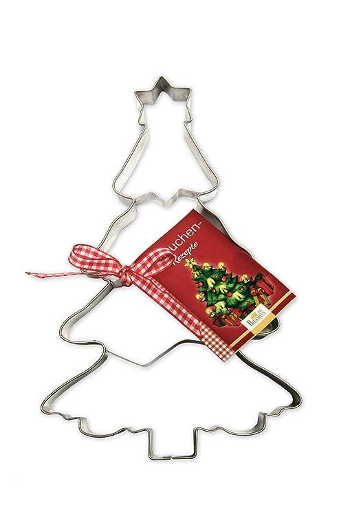 Birkmann 191297 - Cortador de masa grande con forma de árbol de Navidad