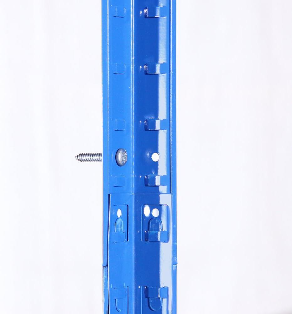 Workbench 2 Bay G-Rack 27 Estanter/ía de garaje Set de 2 Piezas Negro