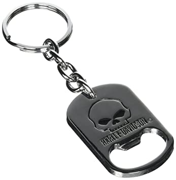 Harley Davidson American keychain Number One skull key ring Motorcycle chain