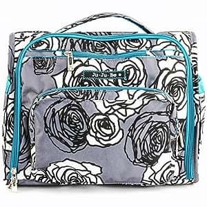 Ju-Ju-Be B.F.F. Convertible Diaper Bag, Charcoal Roses