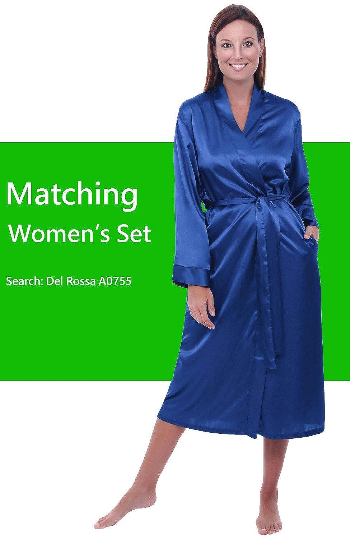 7b3ccac17e Del Rossa Womens Satin Solid Color Nightgown