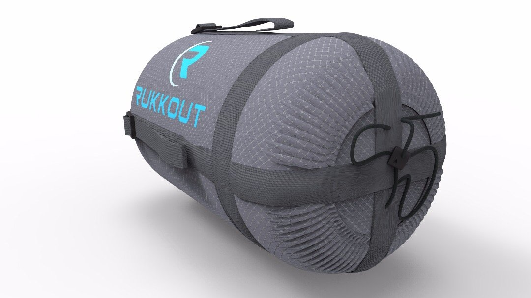 RUKKOUT Lightweight Envelope Sleeping Bag Water Resistant 3 Season Bag Perfect for Camping, Hiking and Backpacking -Ideal for Outdoor Activities with The Included Compression Sack for Portable Use 4