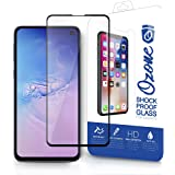 Ozone Samsung Galaxy S10e Tempered Glass Protector Shock Proof Case Friendly Screen Protector - Black