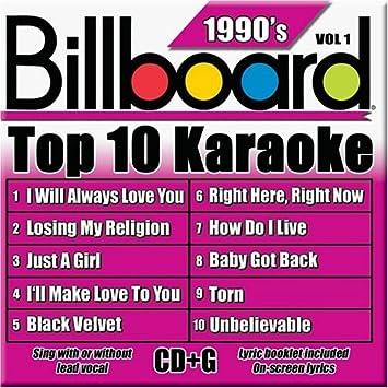 Billboard Top 10 90's Vol  1