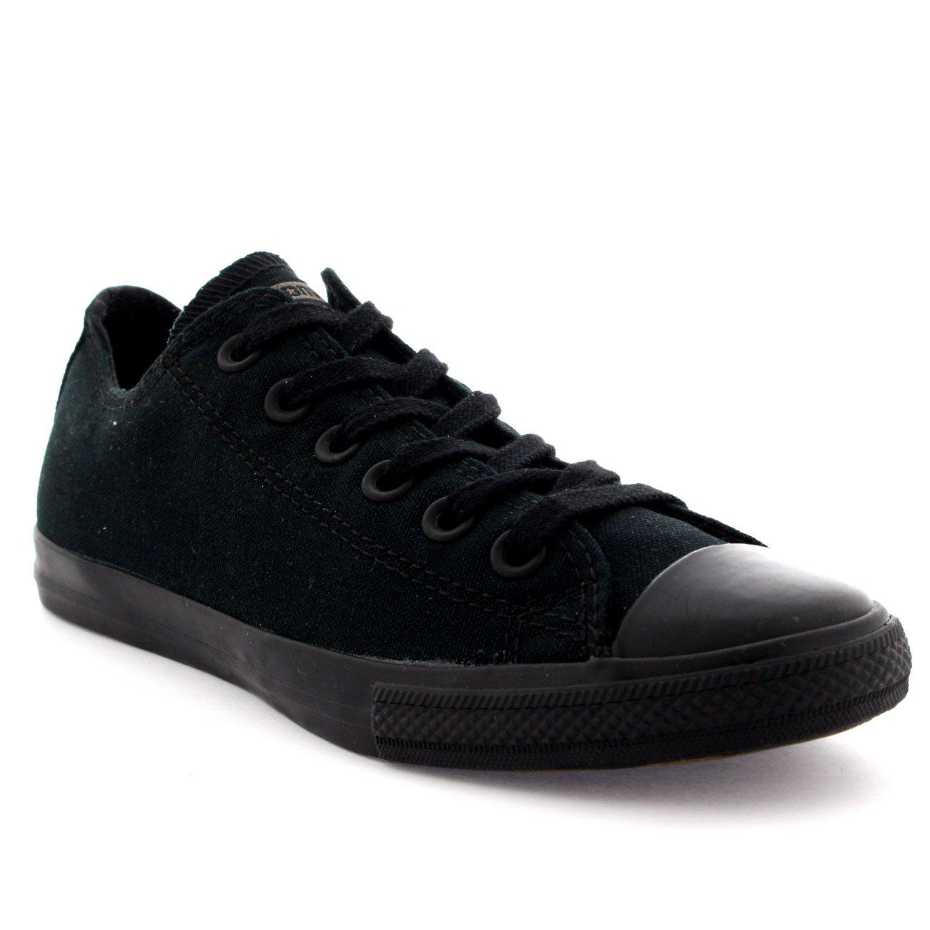 Converse Chuck Taylor All Star Season OX, Unisex Sneaker  36 EU Schwarz/Schwarz