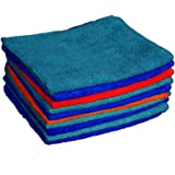 Sheen Microfiber Cleaning Cloth | Microfiber Cloths car Cleaning | Microfiber Cleaning Duster | Laptop Cleaning Cloth | 30X35 cm | 300 GSM | Pack of 30 |