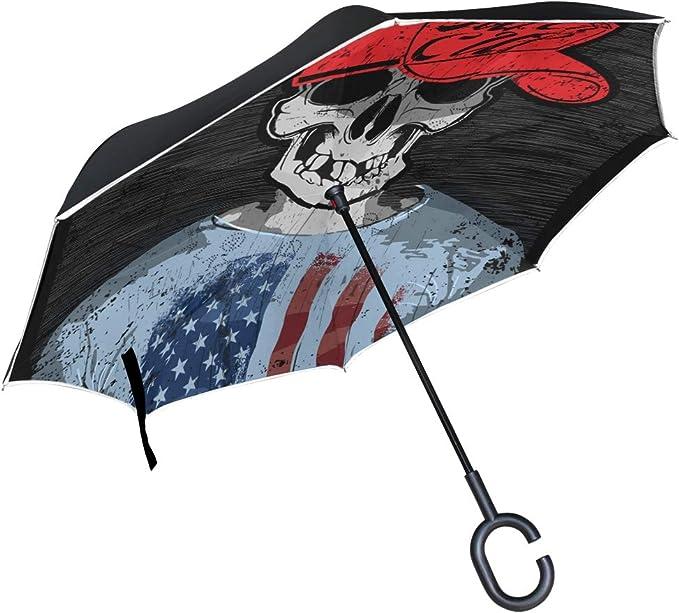 Acheter parapluie tete de mort online 2