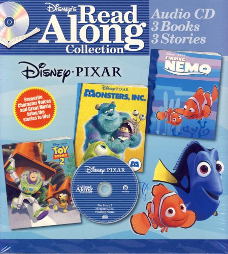 (Disney Pixar: Finding Nemo/Toy Story 2 / Monsters, Inc. (Disney's Read Along)