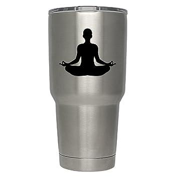 Amazon.com: Vincit Veritas Yoga Meditación de loto Namaste ...