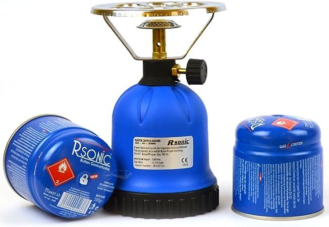 Cartucho eléctrica/Hornillo de gas para 190 g cartuchos de ...