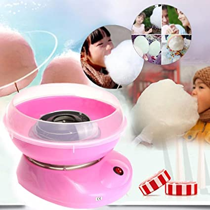 Mini DIY Electirc hada algodón Candy máquina eléctrica Floss ...