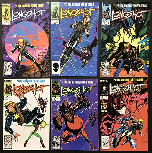 Longshot (1985) #1 2 3 4 5 6 NM (9.4) complete set X-Men