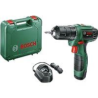 Bosch easydrill 1200noir, vert–Perceuse Perceuse de pistolet, Perforacion, desatornillar, noir, vert, 6mm, 2cm, 6mm)