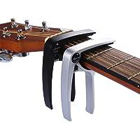 Asmuse Trigger Cejilla Guitarra Capo Española Electrica Acustica Folk Ukelele Bajo instrumento guitar Capo Ligero…