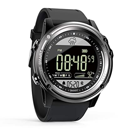 LOKMAT Sports Smart Watch - Men Boy Waterproof Digital Watch, Bluetooth Smartwatch with Walking Calories,Remote Camera, Call/SNS/SMS Reminder for iOS ...