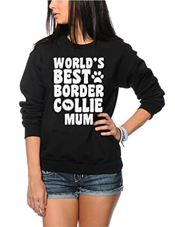World/'s Best Border Collie Mum Dog Puppy Gift Womens Vest Tank Top