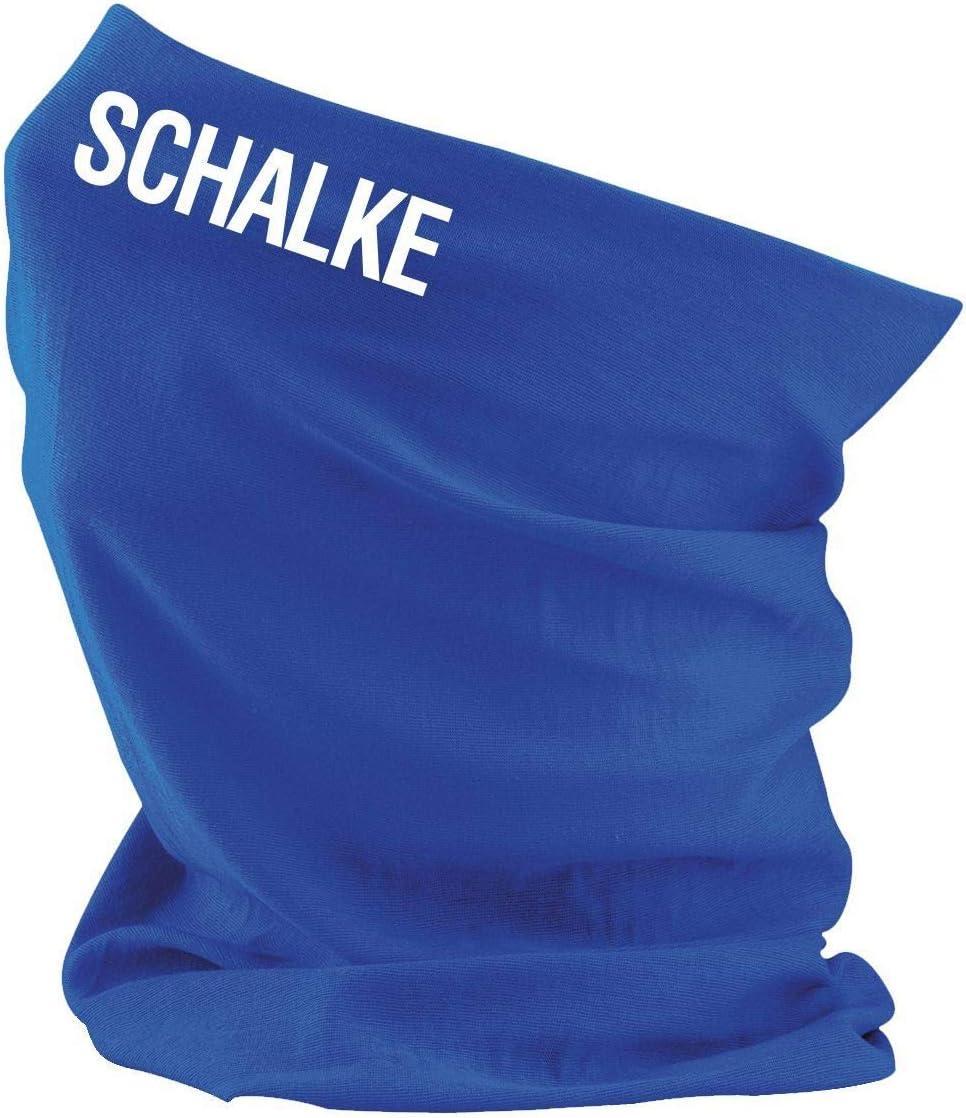 Liga Schalke Roughtex Multifunktionstuch Bedruckt alle Spielorte Fu/ßball Bundesliga und Vereine 2