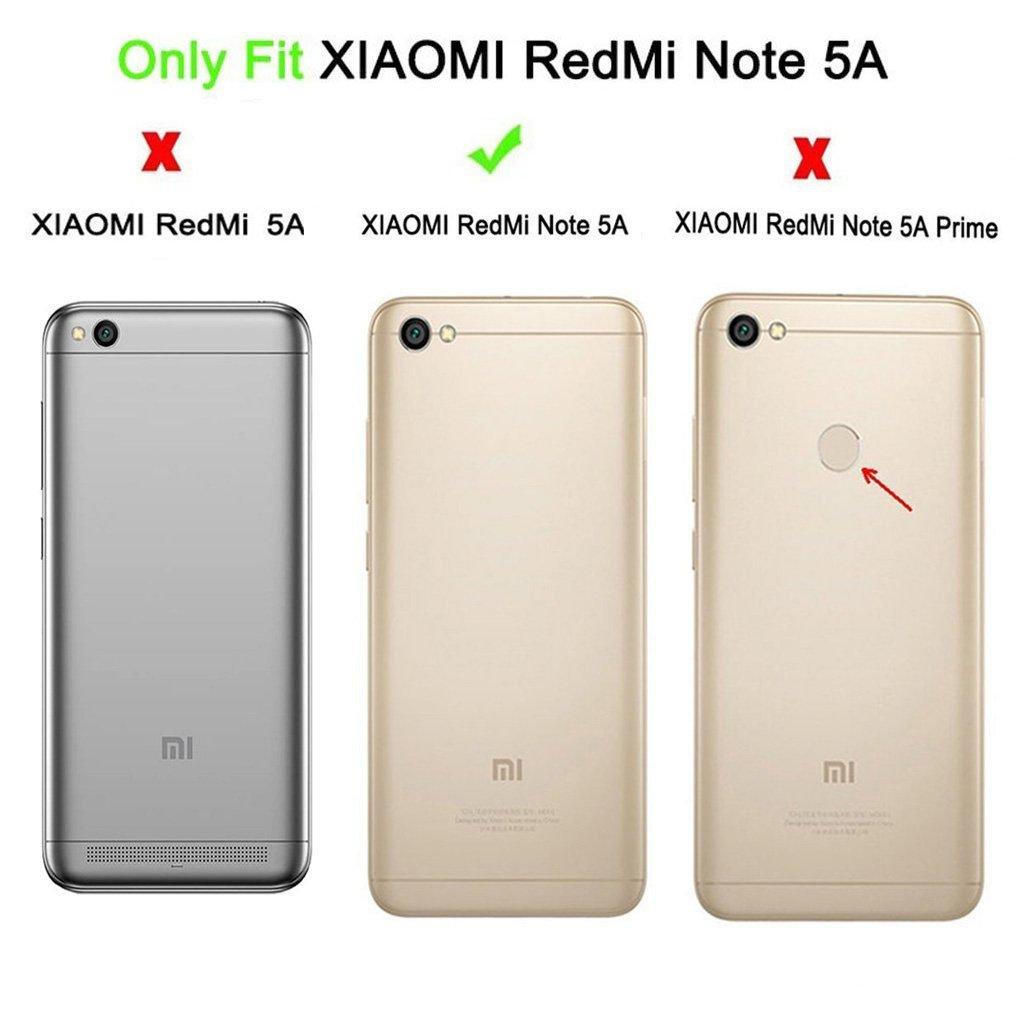 Amazon.com: Xiaomi Redmi Note 5A Funda, con Xiaomi Redmi ...