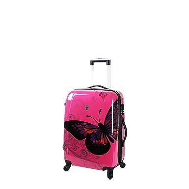 Madisson-Maleta de cabina, Dubai 54 cm, color blanco rosa 50: Amazon.es: Ropa y accesorios