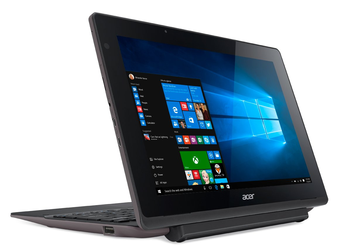 Amazon acer aspire switch 10 e sw3 013 1566 2 in 1 tablet amazon acer aspire switch 10 e sw3 013 1566 2 in 1 tablet laptop color shark gray 32gb windows 10 computers accessories fandeluxe Images